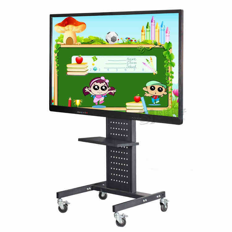 Hanging multimedia touch kindergarten computer integrated machine teaching whiteboard interactive flat meeting display screen